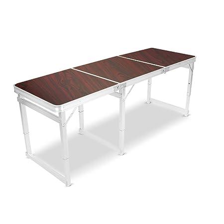 JiuErDP Estable Mesa Plegable Mesa Plegable Mesa para Comer Mesa ...