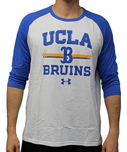 Under Armour UCLA Bruins NCAA Foul Ball Men's Dual Blend 3/4 Sleeve T-Shirt