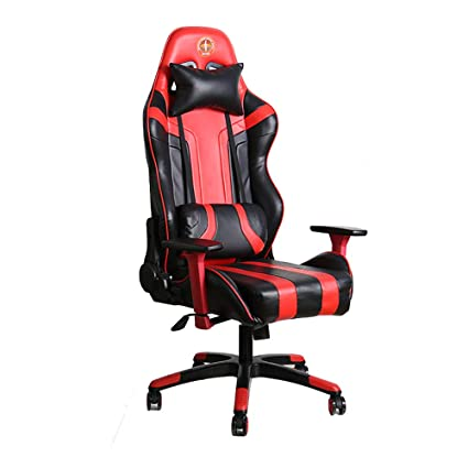 Sweet Chaise Gaming Pas Cher Fauteuil Gamer Rouge