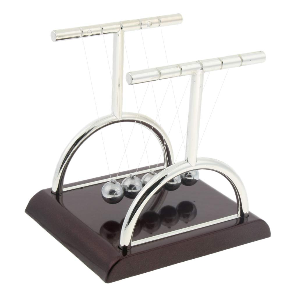 Sharplace Bolas de Equilibrio Juguete de Péndulo Escritorio Piezas de Automóvil Cortacésped Jardín Decor - 2: Amazon.es: Juguetes y juegos