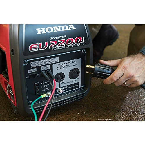 Honda EU2200i 2200W 120-Volt Portable Inverter Generator with Companion and Parallel Cables by Honda (Image #4)