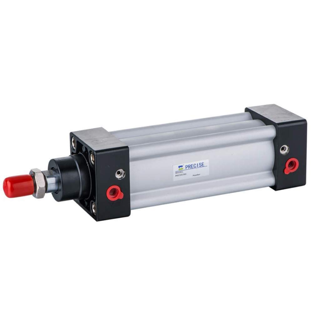 SI80X150-S ISO15552 80mm Bore x 150mm Stroke 3/8'' NPT Double Acting Air Cylinder