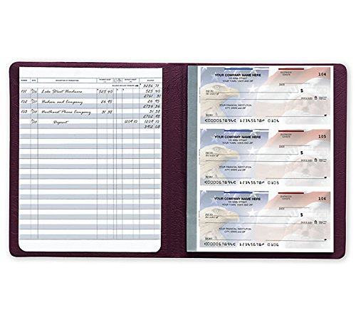 abc check registers for deskbook checks set of 5 books abc check