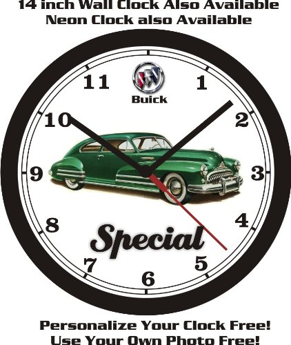 1947 BUICK SPECIAL 46-S SEDANET WALL CLOCK-FREE USA - 46s Car