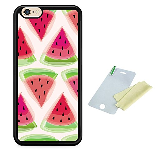 Coque silicone BUMPER souple IPHONE 5c - Pasteque watermelon fruit SWAG mignon motif 2 DESIGN case+ Film de protection OFFERT