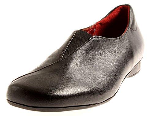 Pelle Scarpe Scarpe Donna M Inserto Pelle in Pantofola Agnello Theresia 45402 di q8UxE5E