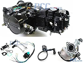 45L 4 UP LIFAN 125CC Manual Motor Engine Carburetor CDI Coil PIT BIKE Wiring Diagram For Cc Lifan To Honda Atc on
