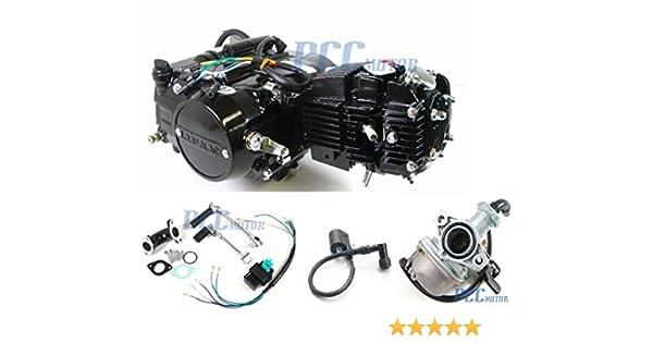 45L 4 UP LIFAN 125CC Manual Motor Engine Carburetor CDI Coil PIT BIKE EN18-SET