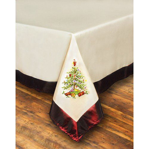 Spode Christmas Tree Tablecloth - 60 x 84