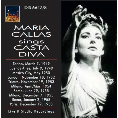 Maria callas sings casta diva by maria callas on amazon - Callas casta diva ...