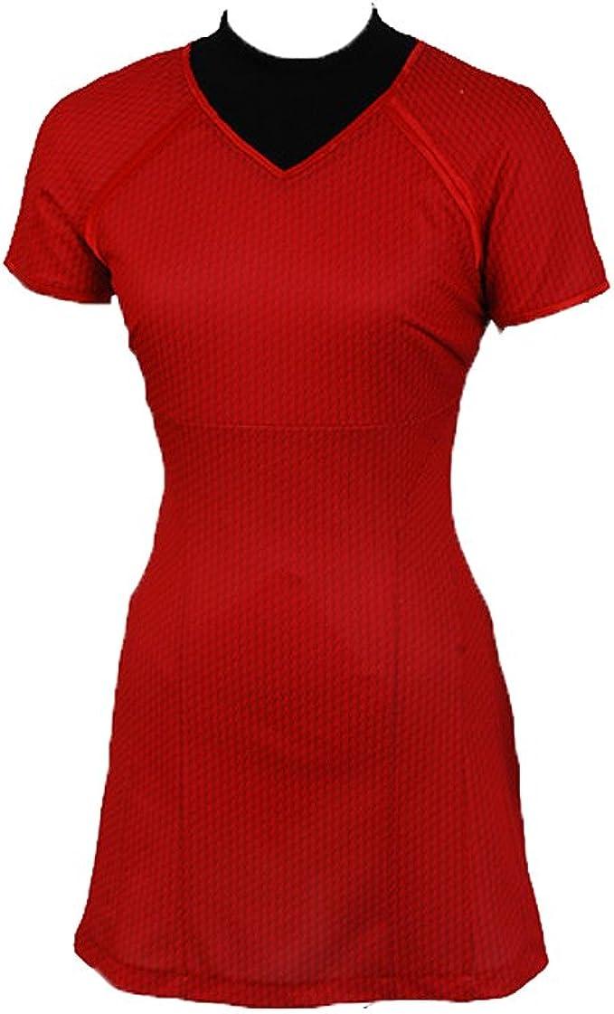 Daiendi Star Trek en la oscuridad camiseta de Uhura de disfraz de ...