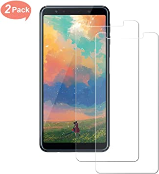2-Pack] Protector Pantalla Compatible con Samsung Galaxy A7 2018 ...