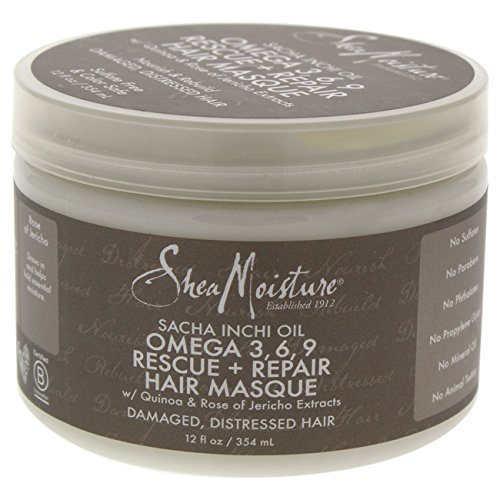 Shea Moisture Sacha Inchi Oil Omega-3-6-9 Rescue & Repair Ha