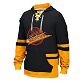 Vancouver Canucks CCM Retro Pullover Lace Hoodie - Size X-Large