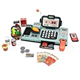 Toy Cash Register for Kids Shopping Pretend Play