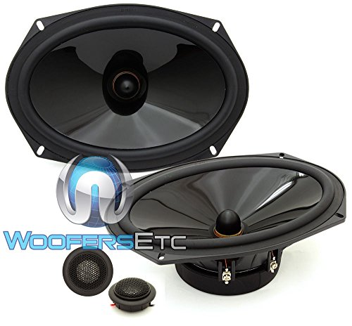 Diamond Audio Tx69v 6×9″ Convertible Component Speaker System 75w Rms Convertible Component Speaker System