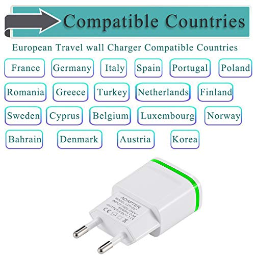 Buy usb power adapter 2a eu