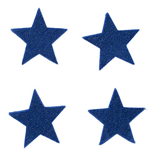 feltfriend-25-pieces-star-shaped-die-cut-felt-saks-blue-fs304-m47