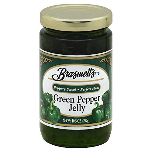 (Braswell Jelly Pepper Green, 10.5 oz)