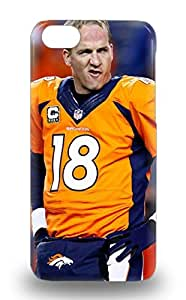 Waterdrop Snap On NFL Denver Broncos Peyton Manning #18 Case For Iphone 5c ( Custom Picture iPhone 6, iPhone 6 PLUS, iPhone 5, iPhone 5S, iPhone 5C, iPhone 4, iPhone 4S,Galaxy S6,Galaxy S5,Galaxy S4,Galaxy S3,Note 3,iPad Mini-Mini 2,iPad Air )
