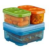 Rubbermaid Lunchblox Kid's Tall Lunch Box Kit, blue/orange/green