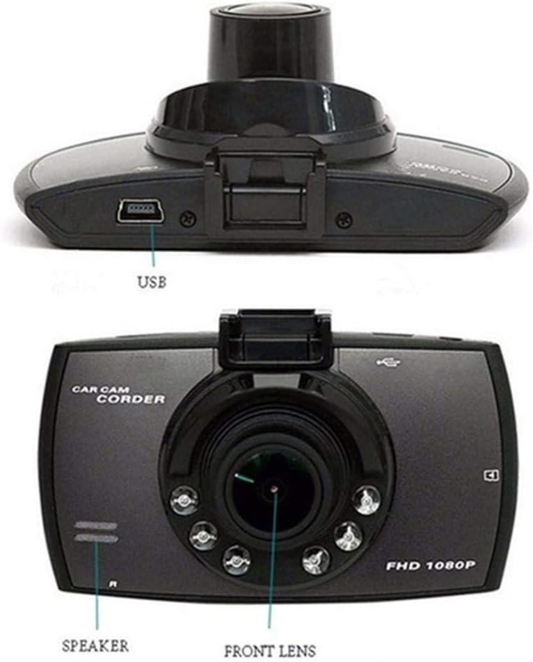Kloius Durable y pr/áctica Pantalla LCD HD Lente Gran Angular Grabador de conducci/ón de autom/óvil C/ámara