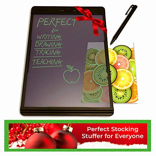 Boogie Board Writing Tablet | Learning Resources Homeschool Supplies Great for Note Taking Drawing Pad Feels Just Like Paper and Pencil | Blackboard Note 8.5x7.25 (Best Tablet Note Taking App)