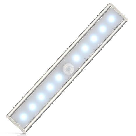 Lifebee Recargable Luz Armario con Interruptor, Lámpara USB LED Barra de Luz LED Nocturna Inalámbrica