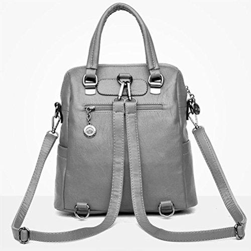 Multi Bags Bags Back Bag Handbag Hand Bag Fashion Blue Shoulder Bags Handbags Casual Large Women's Big Shoulder Capacity afSO6cW64