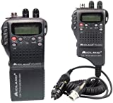 Midland – Handheld 40-Channel Cb Radio With Weather/All-Hazard Monitor & Mobile Adapter * Midland – Handheld 40-Channel Cb Radio With Weather/All-Hazard Monitor & Mobile Adapter 4W Of Power Over All For Sale