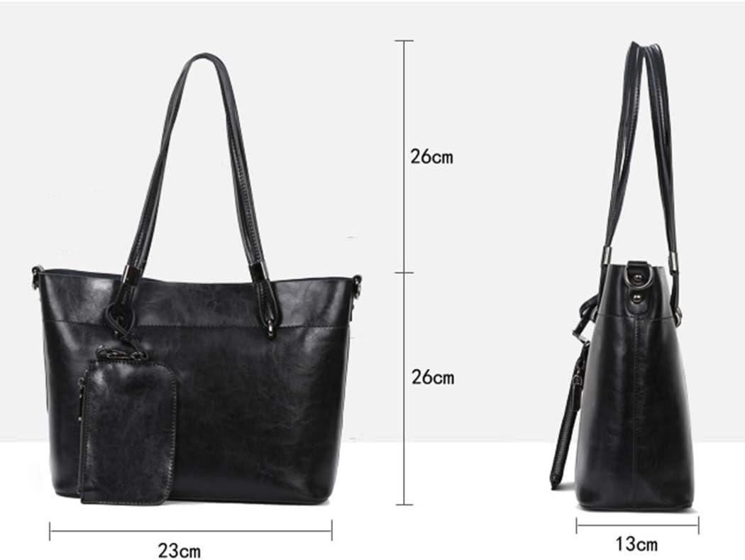 Lfny-bagFrauen weiches Lederhemd Umhängetasche Handtasche Einkaufstasche Handtasche Schulter Diagonale Paket gray