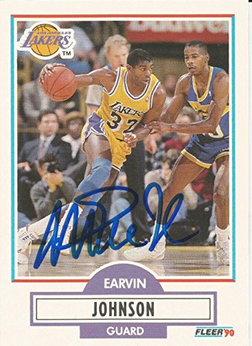 1990-fleer-los-angeles-lakers-magic-johnson-signed-auto-card-in-person-proof-basketball-autographed-