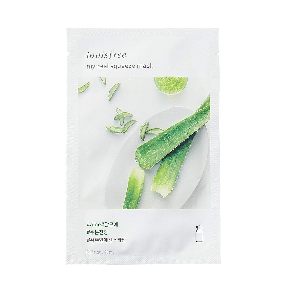 Innisfree My Real Squeeze Mask Aloe