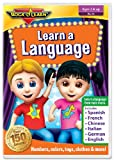 Learn A Language: Numbers, Colors & More (Spanish, French, Chinese, Italian, German & English)