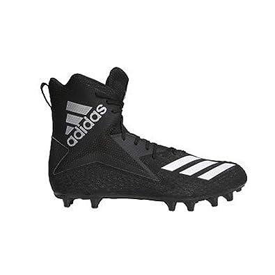 89b4332e1 adidas Men's Freak High Wide Football Cleats (13, Black/White/Black)
