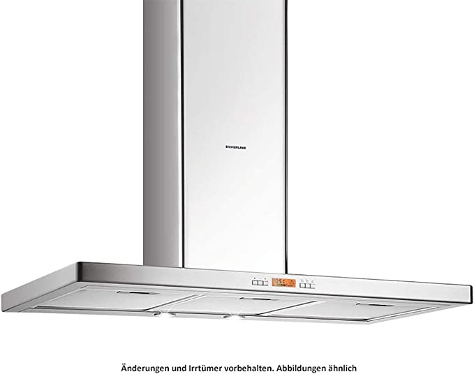 Silverline Beta Deluxe BEBW 810 E - Campana de pared (acero inoxidable, 80 cm): Amazon.es: Grandes electrodomésticos