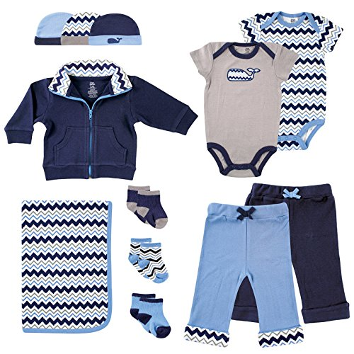 Yoga Sprout Baby Boys Whale Collection product image