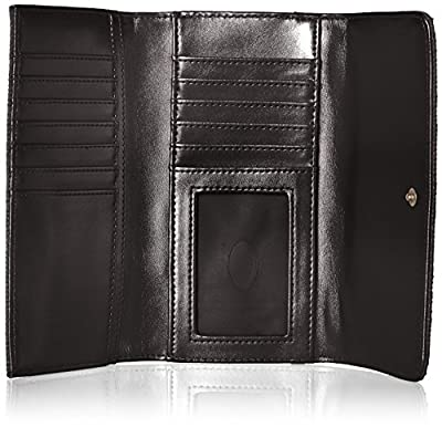 GUESS Jordyn Slim Clutch - black Wallet