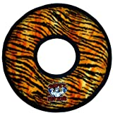 Tuffy's Mega Ring Dog Toy, Tiger Print, My Pet Supplies
