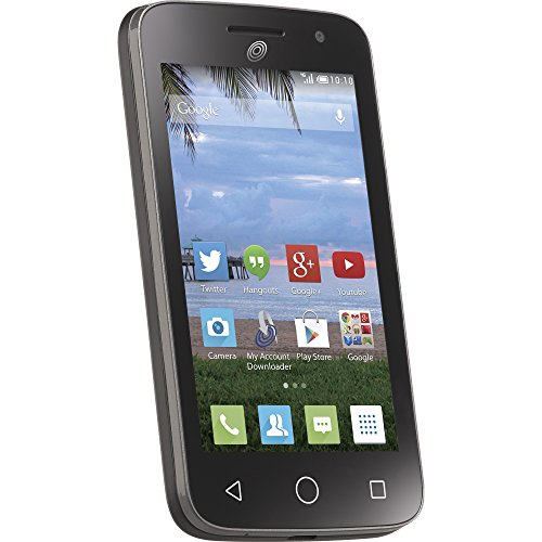 Net10 Alcatel Pop Star 2 4G LTE Prepaid Smartphone - White Box Packaging by Tracfone (Image #1)