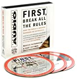 img - for M. Buckingham's C. Coffman's First, Break All The Rules(First, Break All The Rules: What The Worlds Greatest Managers Do Differently [Abridged][Audiobook][CD] (Audio CD))2000 book / textbook / text book