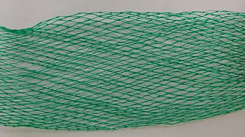 20 Yards Multipurpose Extruded Plastic Mesh Netting Wine Bottle Protector, Thread Sock, Glass Jar Shield, Fruit and Vegetable Organizer -