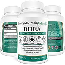DHEA 50mg Extra Strength (2 Month Supply). Boost Hormone Levels, Anti-aging, Improve Bone Strength, and Sexual Functions. Vegan, Soy-Free, Dairy-Free, Non-GMO and in Veggie Capsule