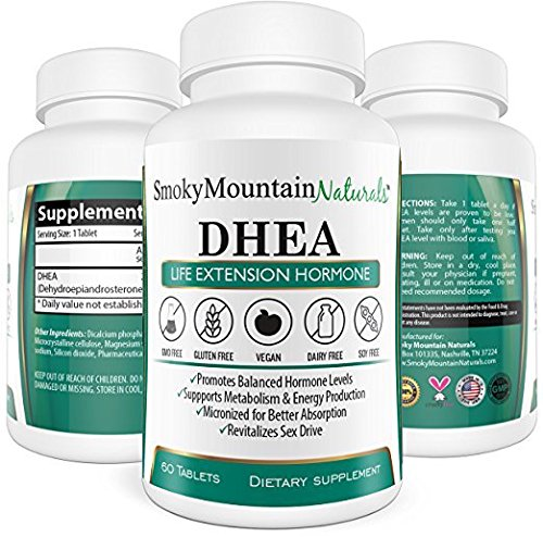 DHEA 50mg Extra Strength (2 Month Supply). Boost Hormone Levels, Anti-aging, Improve Bone Strength, and Sexual Functions. Vegan, Soy-Free, Dairy-Free, Non-GMO and in Veggie (Anti Aging Testosterone)