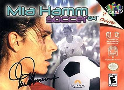 f15e4757c8b Amazon.com: Mia Hamm Soccer 64: Video Games