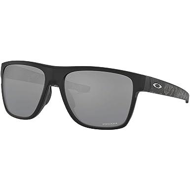 ee805bc3c305 Amazon.com: Oakley Men's Crossrange XL Non-Polarized Iridium Square  Sunglasses, Black Ink, 58 mm: Oakley: Clothing