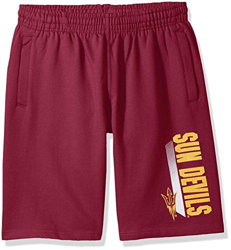 NCAA Arizona State Sun Devils CVC Fleece Shorts, Maroon, (Arizona State Sun Devils Athletics)