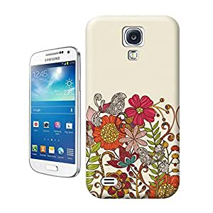 Unique Phone Case Flowers Art Spring garden Hard Cover for samsung galaxy s4 cases-buythecase