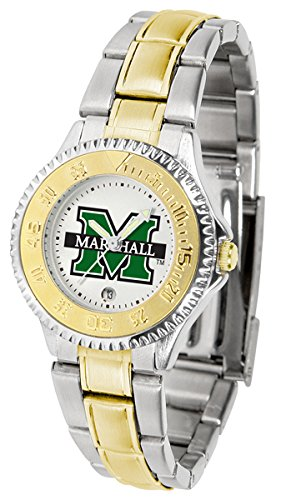 (Marshall Thundering Herd Competitor Two-Tone Women's Watch)