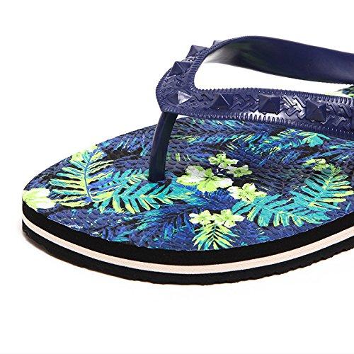 Wknbeu Sandalias Drag Aire Interior Playa Zapatillas Hombres Palabra Libre Antideslizantes Color De Verano Al Unisex Zapatos mujeres qrwqCF1